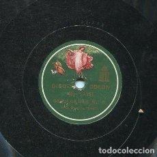 Discos de pizarra: NIÑA DE LOS PEINES / SOLEARES Nº 3 / SEVILLANAS Nº 3 (ODEON 13.262). Lote 206252490