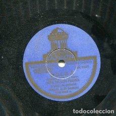 Discos de pizarra: NIÑA DE LOS PEINES / SOLEA / PASITO QUE YO DOY (ODEON 182.523). Lote 206256466