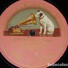 Discos de pizarra: DISCO 78 RPM - GRAMOPHONE - PASQUALE AMATO - BARITONO - OTELLO - VERDI - OPERA - PIZARRA. Lote 206278436