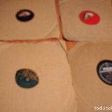 Discos de pizarra: LOTE DE 10 DISCOS DE PIZARRA, AÑOS C. 1950, MÚSICA CLÁSICA, MEXICANA, ETC. LEER DESCRIPCIÓN.. Lote 206327132