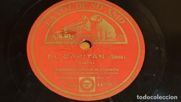 Discos de pizarra: PIZARRA !! ORQUESTA SINFONICA DE FILADELFIA / MAESTRO STOKOWSKI / 25 CM - LEER - Foto 2 - 206486467