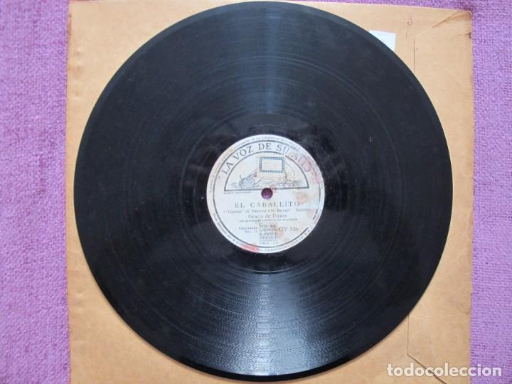 Discos de pizarra: GRACIA DE TRIANA / EL CABALLITO / PEPE ROMERO (LA VOZ DE SU AMO GY 536) - Foto 4 - 205090423