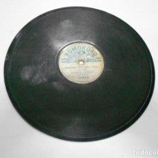 Discos de pizarra: ANTIGUO DISCO PIZARRA - ADIOS MI NEGRA Y CONTRAPUNTO. Lote 207035235