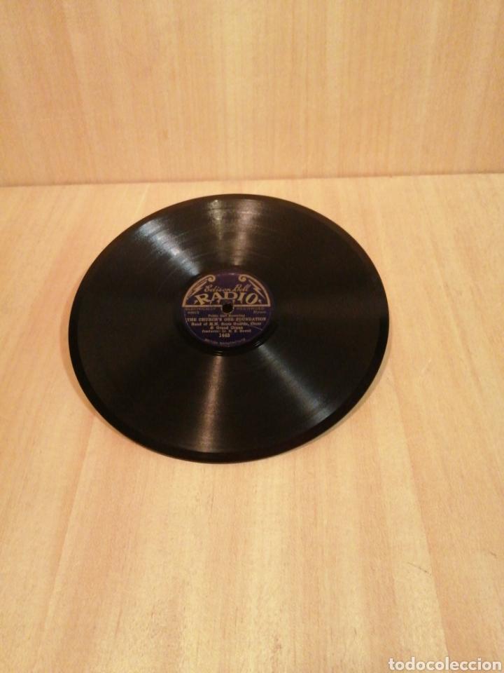 BAND OF H.M SCOTS GUARDS..8'' SHELLAC. ENGLAND 1931. (Música - Discos - Pizarra - Clásica, Ópera, Zarzuela y Marchas)
