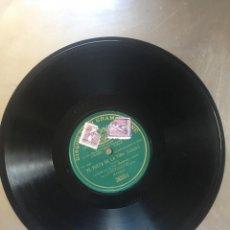 Discos de pizarra: DISCO PIZARRA GRAMOPHONE, EL POETA DE LA VIDA (CALLEJA). Lote 207115601
