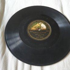 Discos de pizarra: 78 RPM SARASATE. Lote 207215180