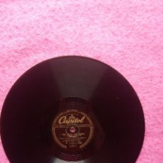 Discos de pizarra: WOODY HERMAN – LEMON DROP / I AIN'T GETTIN' ANY YOUNGER - CAPITOL CL 13060 (EX-) 78RPM PIZARRA. Lote 207247857