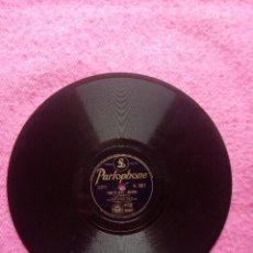 Discos de pizarra: XAVIER CUGAT & LA CHATA – TONY'S WIFE / LA CUCARACHA - PARLOPHONE R 2821 (EX-) PIZARRA 78 RPM. Lote 207248478