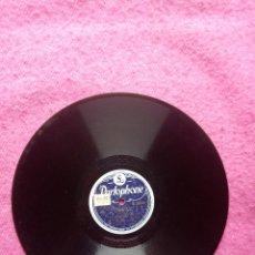 Discos de pizarra: DUKE ELLINGTON & HIS ORCH. – SLIPPERY HORN / BLUE HARLEM - PARLOPHONE R 2925 (EX) PIZARRA 78 RPM. Lote 207248713