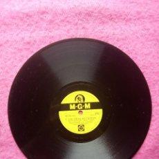 Discos de pizarra: ZIGGY ELMAN & VIRGINIA MAXEY - AND THE ANGELS SING / THREE LITTLE WORDS - MGM 101 (EX) PIZARRA 78RPM. Lote 207249438