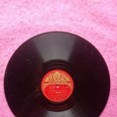 Discos de pizarra: ELLA FITZGERALD – OH! LADY BE GOOD / FLYING HOME - DECCA RD 40086 (EX) PIZARRA 78RPM. Lote 207249808