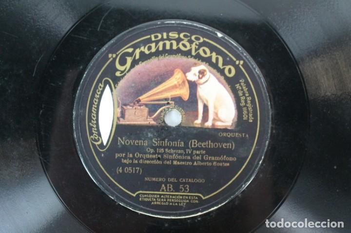 Discos de pizarra: DISCO DE PIZARRA BEETHOVEN -- NOVENA SINFONIA - Foto 3 - 207417083