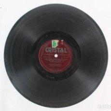 Discos de pizarra: DISCO DE PIZARRA CIE CRYSTALATE --ORQUESTA MUSETTE. Lote 207419006