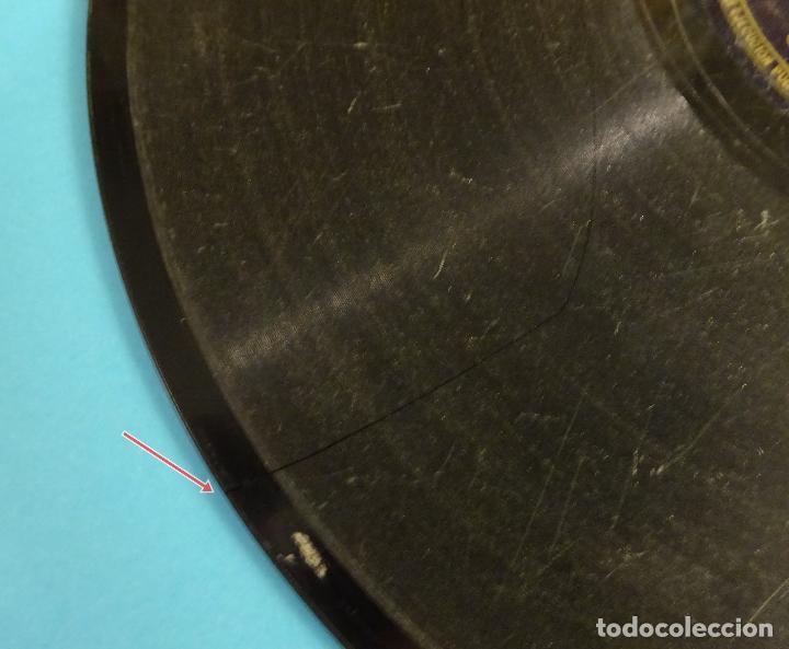 Discos de pizarra: CANALEJAS DE PUERTO REAL. GUITARRA ESTEBAN DE SANLÚCAR. BULERÍAS / FANDANGOS - Foto 3 - 207556613