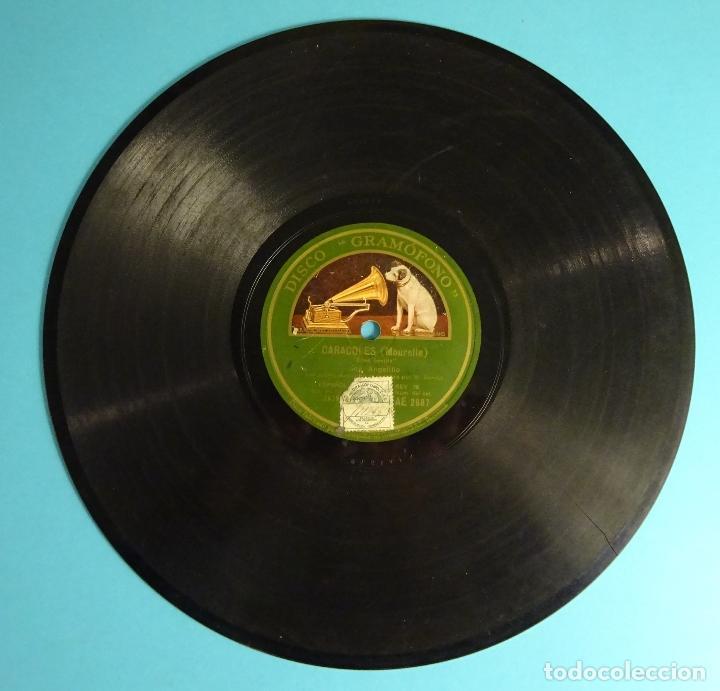 Discos de pizarra: AGELILLO. GUITARRA M. BORRULL. CARACOLES / FANDANGOS - Foto 3 - 207557190