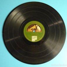 Discos de pizarra: AGELILLO. GUITARRA M. BORRULL. CARACOLES / FANDANGOS. Lote 207557190
