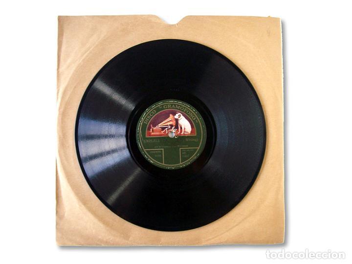 Discos de pizarra: DISCO GRAMÓFONO UKELELE LADY / LET ME LINGER LONGER IN YOUR ARMS - Foto 2 - 207724188