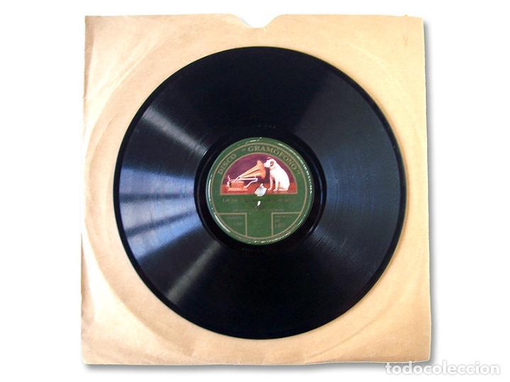 DISCO GRAMÓFONO ''UKELELE LADY / LET ME LINGER LONGER IN YOUR ARMS'' (Música - Discos - Pizarra - Otros estilos)