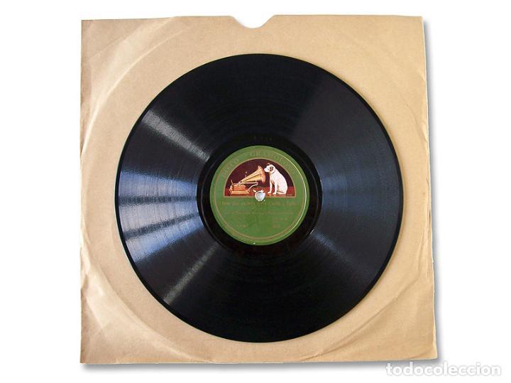 Discos de pizarra: DISCO GRAMÓFONO WHERE DO YOU WORK - A JOHN? / I LOVE THE COLLEGE GIRLS - Foto 2 - 232449615