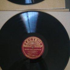Discos de pizarra: DISCO DE PIZARRA 78RPM-LALE ANDERSEN- LILI MARLEN-LIED EINES JUNGEN WACHTPOSTENS/DREI ROTE ROSEN. Lote 208125837