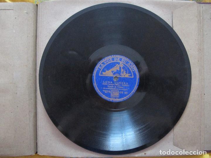 Discos de pizarra: GRACIA DE TRIANA / LUNA LUNERA / EL APERAO (LA VOZ DE SU AMO (GY 451) - Foto 2 - 208805671