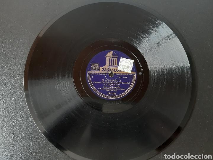 MARCO REDONDO CON ACOMPAÑAMIENTO DE ORQUESTA. 184.205. ODEON. (Música - Discos - Pizarra - Clásica, Ópera, Zarzuela y Marchas)