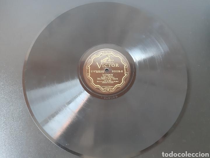SRA. MELO Y SRTA. ISAURA. LA VIEJECITA. RCA VICTOR. 90028 (Música - Discos - Pizarra - Clásica, Ópera, Zarzuela y Marchas)