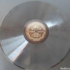 Discos de pizarra: SRA. MELO Y SRTA. ISAURA. LA VIEJECITA. RCA VICTOR. 90028. Lote 208845380