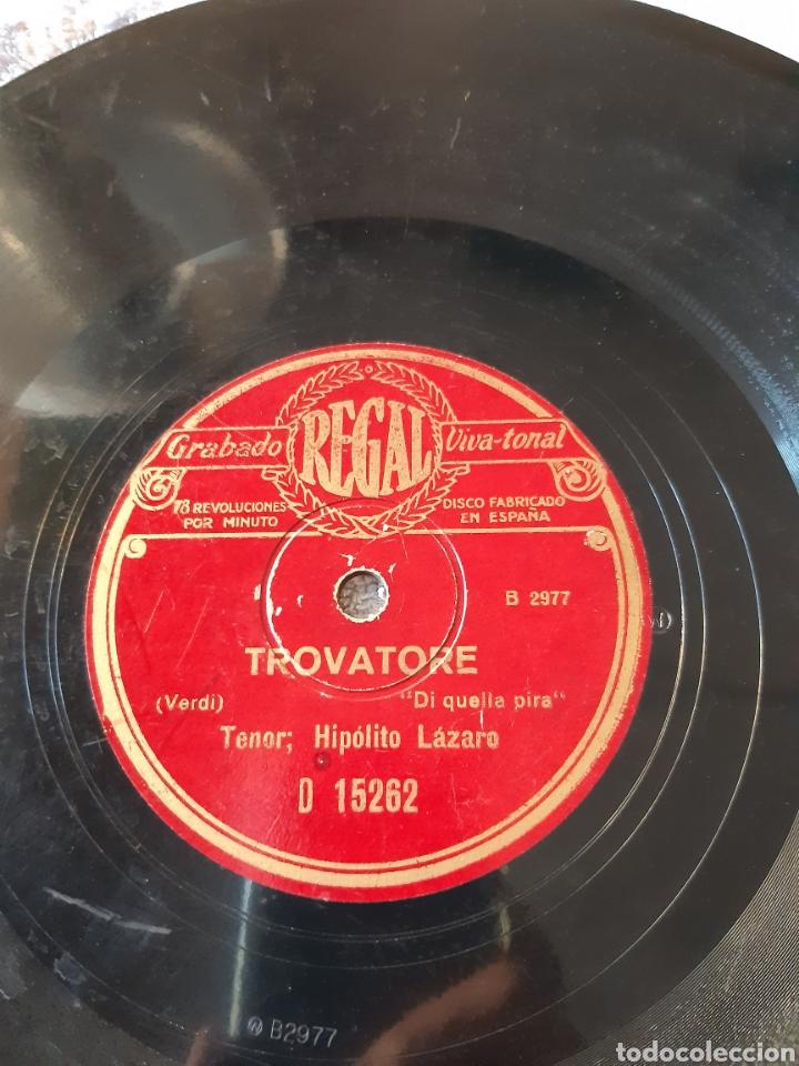 GUGLIELMO TELL Y TROVADOR TENOR HIPÓLITO LAZARO (Música - Discos - Pizarra - Bandas Sonoras y Actores )