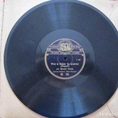 Discos de pizarra: MANUEL VALLEJO / CUANDO YO ME LEVANTE / VOY A DEJAR TU QUERER (REGAL RS 765). Lote 209132313