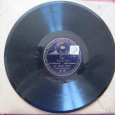 Discos para gramofone: MANUEL VALLEJO / LA TRIANERA / LA MACERENA (REGAL RS 312). Lote 209134763