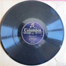 Disques en gomme-laque: MANUEL VALLEJO / FANDANGO Nº 1 / SEGUIDILLAS (COLUMBIA RS 366). Lote 209137450