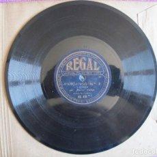 Discos para gramofone: MANUEL VALLEJO / FANDANGO Nº 2 - COJO DE MALAGA / MURCIANA (REGAL RS 416). Lote 209315112