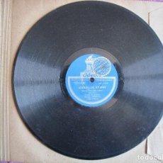 Discos de pizarra: MANUEL VALLEJO / ALEGRIA / SEGUIDILLAS GITANAS (ODEON 182.172). Lote 209315290