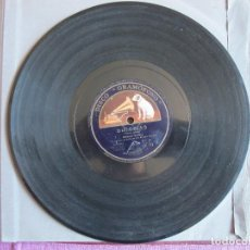 Discos de pizarra: MANUEL VALLEJO / BULERIAS / HOY ME ENCUENTRO ARREPENTIO.. (GRAMOFONO GY 129). Lote 209320210