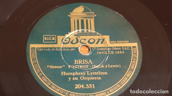 Discos de pizarra: PIZARRA !! HUMPHREY LYTTELTON Y SU ORQUESTA / COSTA ESTE - BRISA / 25 CM / LEER. - Foto 2 - 210230841