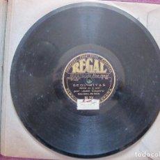 Discos de pizarra: JOSE CEPERO / MORENA ERA TU CARA / QUE POR MI PUERTA PASO ( REGAL RS 714). Lote 210542497