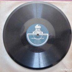 Discos de pizarra: JOSE CEPERO / FANDANGUILLO DE VALVERDE / MALAGUEÑAS GRANADINAS (ODEON 181.003). Lote 210542710