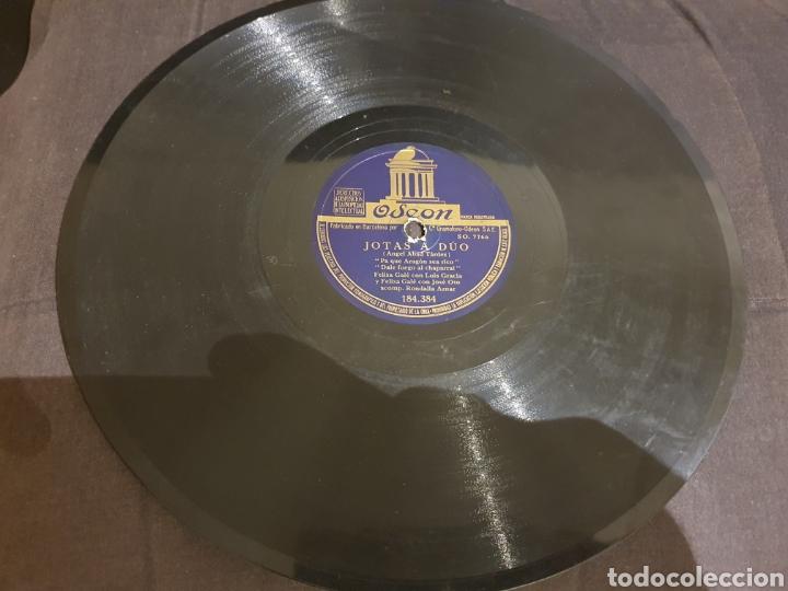 Discos de pizarra: 78 RPM Jotas A Duo Felisa Gale/ Jose Oto - Foto 4 - 210589492