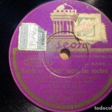 Discos de pizarra: ODEON 203.244 - ENRIQUETA SERRANO, TOMÁS QUIERO SER MAMÁ, ROSITA FONTANAR, SIENTO UN TIPITI TODAS LA. Lote 210617668
