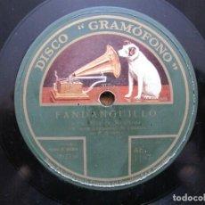 Discos de pizarra: NIÑO MARCHENA / FANDANGUILLO / FANDANGUILLO DE ALOSNO (GRAMOFONO AE 1157). Lote 211268209