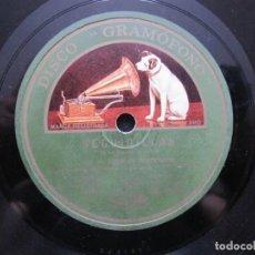Discos de pizarra: NIÑO MARCHENA / MADRE DE MI CORAZON / TU NO TIENES LA CULPA (GRAMOFONO AE 2640). Lote 211270702