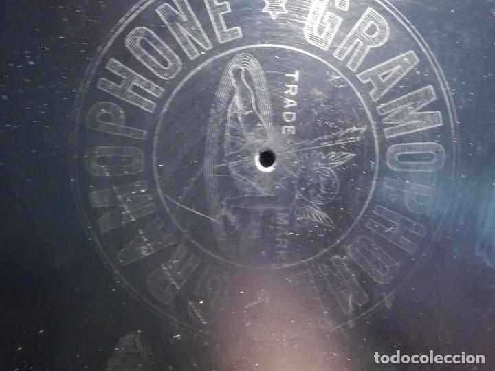 Discos de pizarra: PIZARRA UNA cara GRAMOFONE 060022 - Profesores BANDA MUNICIPAL BARCELONA, EL SITIO DE ZARAGOZA - Foto 2 - 211521404