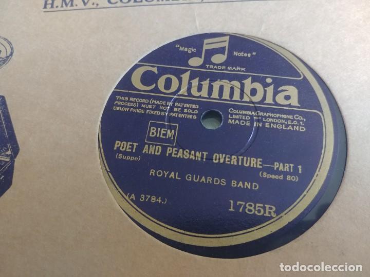 Discos de pizarra: DISCO DE PIZARRA COLUMBIA ROYAL GUADS BAND MIREN FOTOS - Foto 2 - 211676129