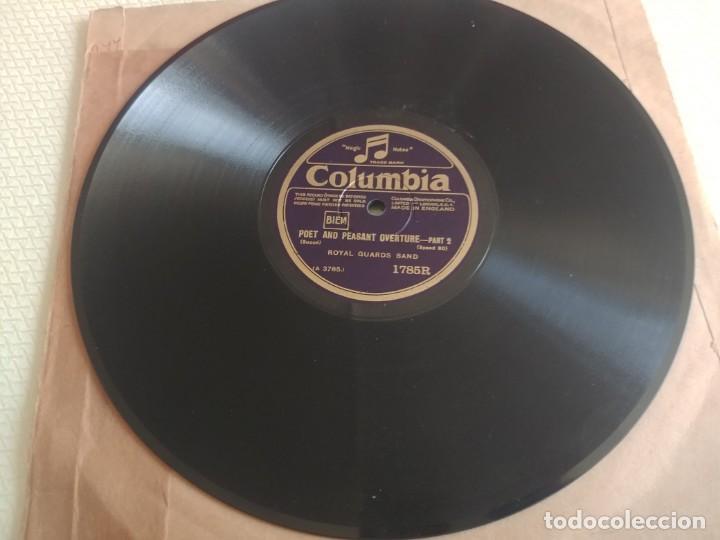 Discos de pizarra: DISCO DE PIZARRA COLUMBIA ROYAL GUADS BAND MIREN FOTOS - Foto 3 - 211676129