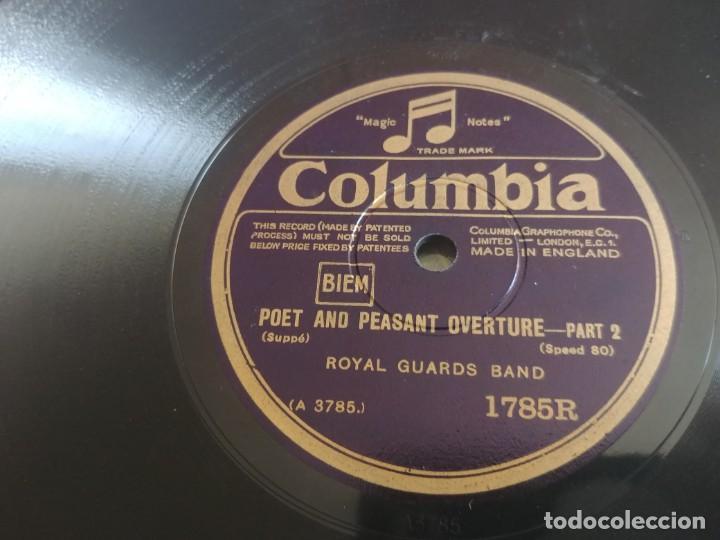 Discos de pizarra: DISCO DE PIZARRA COLUMBIA ROYAL GUADS BAND MIREN FOTOS - Foto 4 - 211676129
