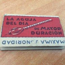 Discos de pizarra: SOBRE AGUJAS PARA DISCOS PIEDRA 10 AGUJAS CHRITIN PARA PICK UP (CRIP7). Lote 211831195