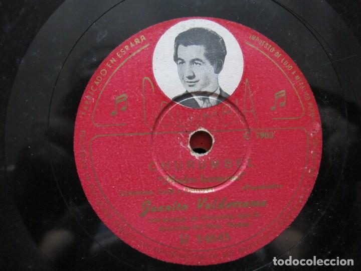 JUANITO VALDERRAMA / CHURUMBEL / COMO UNA HERMANA (COLUMBIA R 14645) (Música - Discos - Pizarra - Flamenco, Canción española y Cuplé)