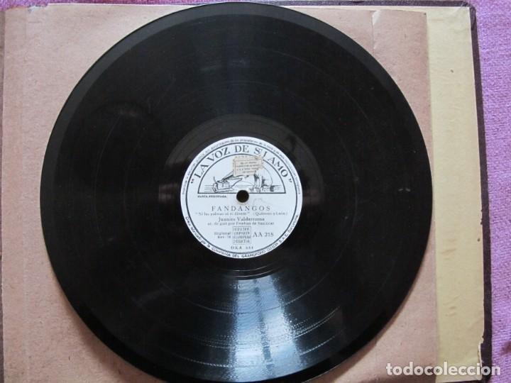 Discos de pizarra: JUANITO VALDERRAMA / LES DIJO A LAS TRES MARIAS / NI LAS PALMAS NI EL DINERO (LA VOZ DE SU AMO AA 21 - Foto 4 - 212241666