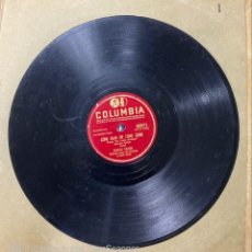 Disques en gomme-laque: DINAH SHORE. COME RAIN OR COME SHINE / ALL THAT GLITTERS IS NOT GOLD. COLUMBIA. 36971.. Lote 212482472